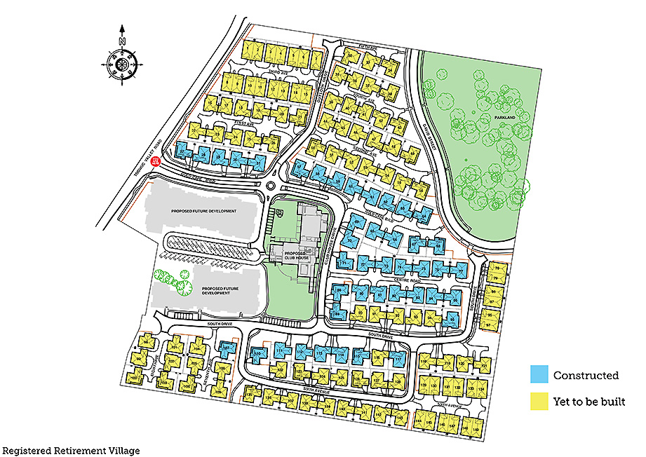 Goldcare Site Plan - Update Web
